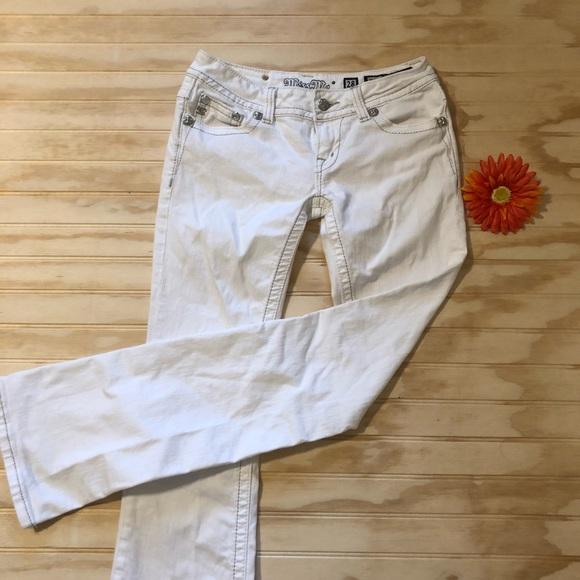 415579c2a53 Miss Me Sequin Cluster Boot Cut Jeans. M_5a9322b6caab44f13c182a2f